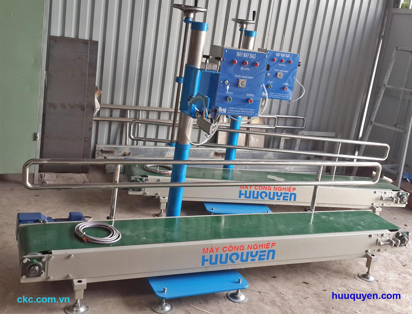 Băng tải dùng cho máy may bao công nghiệp