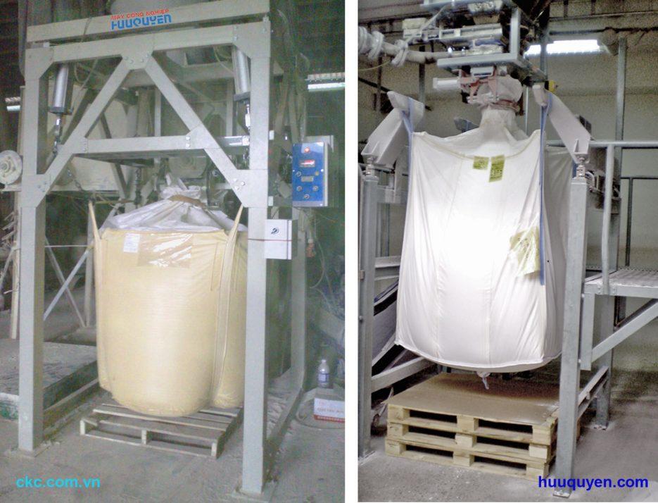 Cân bột mì đóng bao jumbo, bao lớn, bao tải